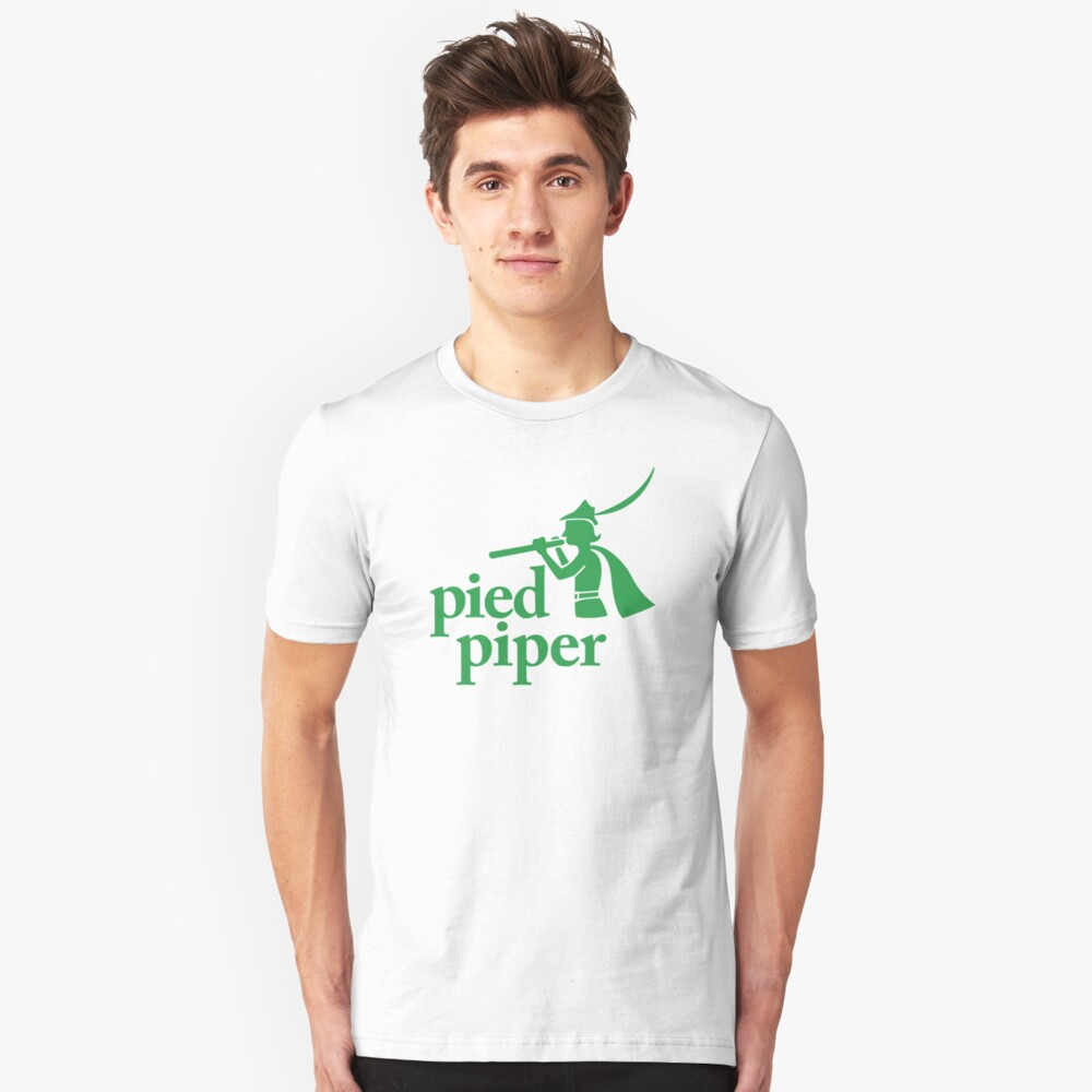 Pied Piper (Version 1) Slim Fit T-Shirt