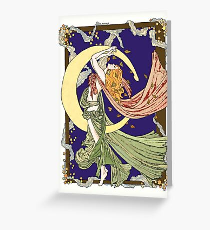 Skyclad October Night Greeting Card