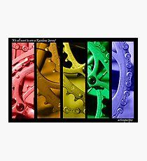 Rainbow Jersey Photographic Print