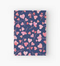 Blooming heart tree  Hardcover Journal