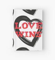 LOVE WINS 2 (black) Hardcover Journal