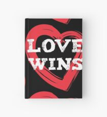 LOVE WINS 2 (red) Hardcover Journal