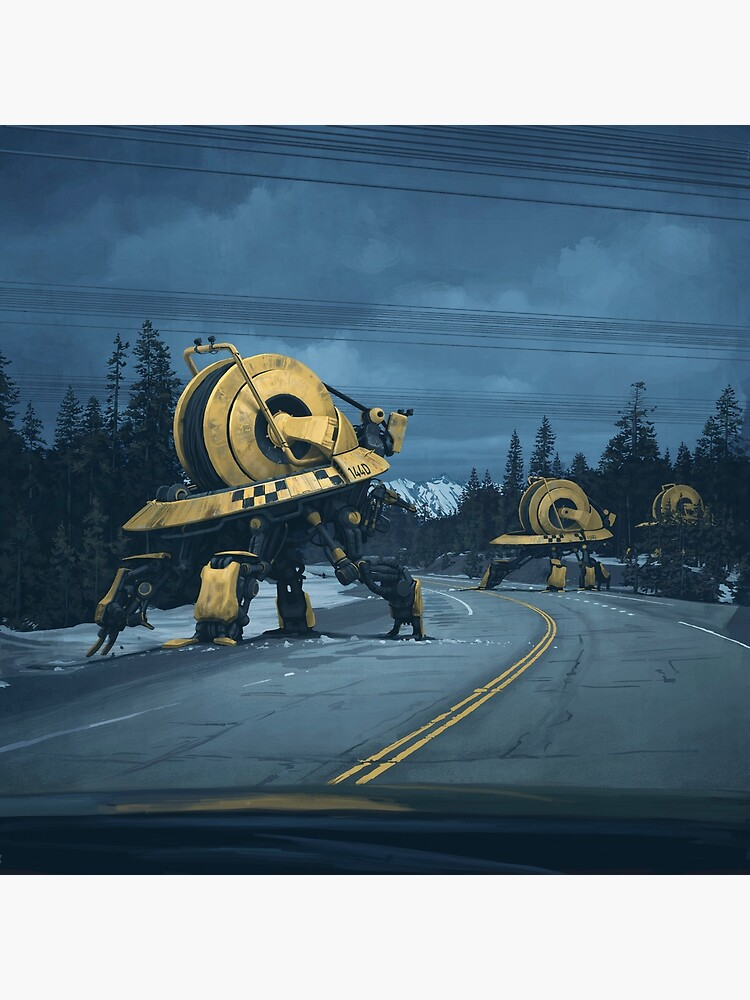 Cablers by simonstalenhag