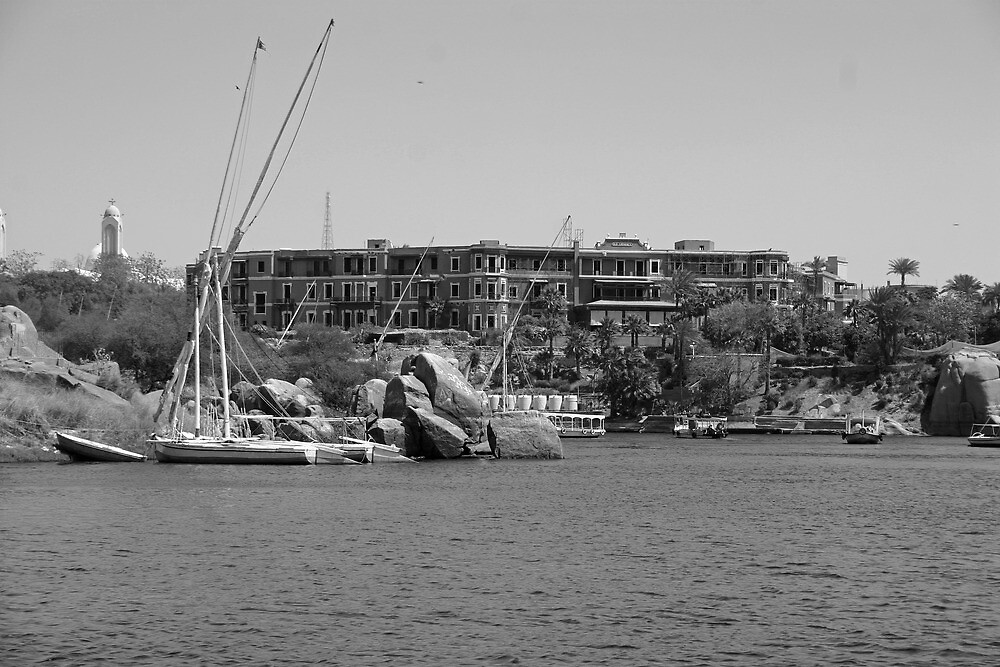Old Cataract Hotel Aswan Egypt By Desertman Redbubble