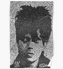 Ian McCulloch - Echo and the Bunnymen Poster