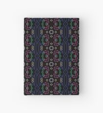Neon Directions Red Yellow Green Blue Hardcover Journal
