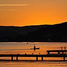 Belmont Bay - At the End of a Perfect Day by Bev Woodman