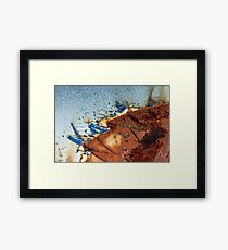 Battleship. Framed Print
