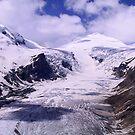 Austria, Glacier and Mountain Großglockner by Daidalos
