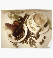 Coffee & chocolates for Mom Poster