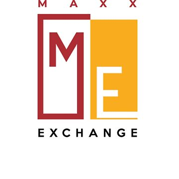 Crimson and Gold Logo design, Maxx Exchange. by maxxexchange