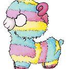 « Alpaga multicolore  » par darkrevette