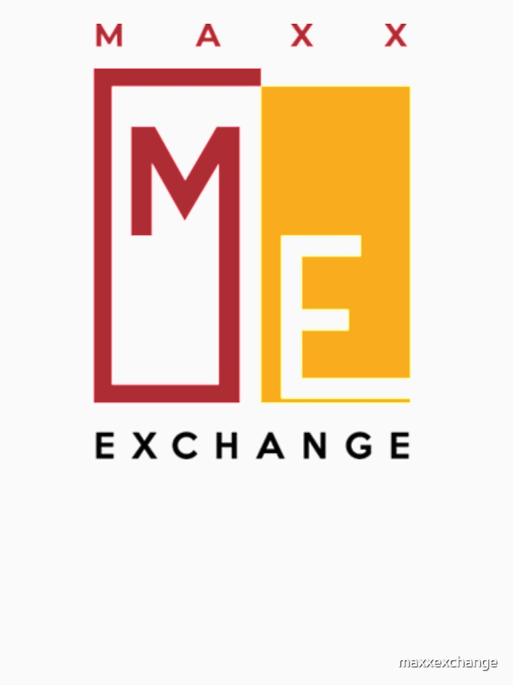 Crimson and Gold Maxx Exchange, Logo Design. by maxxexchange