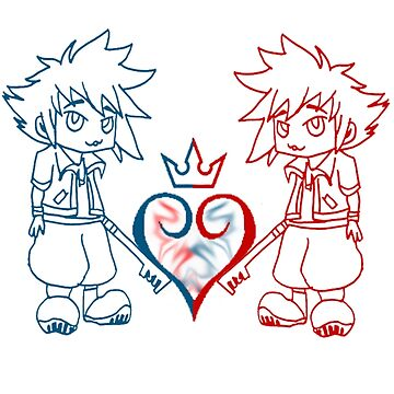 kingdom hearts by voldy95