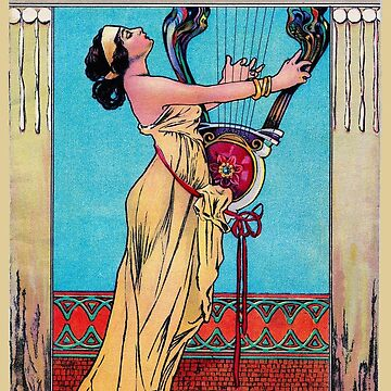 LYRIC THEATRE : Vintage 1892 Music Concert Print by posterbobs