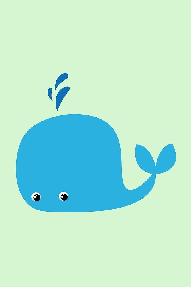 Cute Little Whale by eelagreen