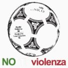 A Casual Classic iconic No Alla Violenza inspired t-shirt design T-Shirt  by Casual Classics