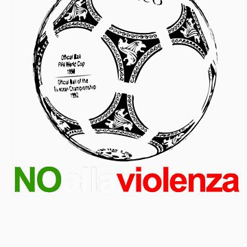 A Casual Classic iconic No Alla Violenza inspired t-shirt design T-Shirt  by dylanmccarthy