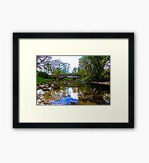 Stone Bridge - River Skirfare. Framed Print