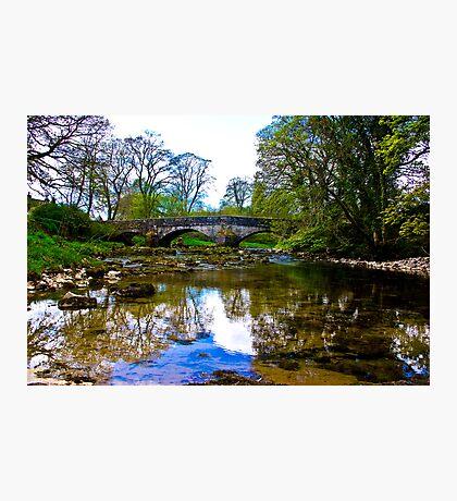Stone Bridge - River Skirfare. Photographic Print