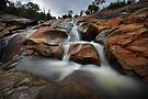 Upper Woolshed Falls by Jim Worrall