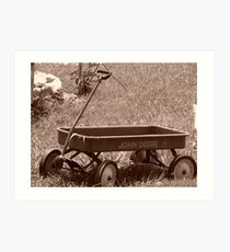 Nostalgic Country Life - Adams, TN Art Print