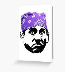 Prison Mike Greeting Card