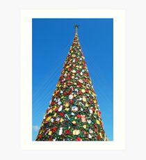 Giant Christmas Tree in Palawan, Philippines Art Print