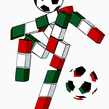 A Casual Classic iconic Italia 90 inspired t-shirt design  by dylanmccarthy