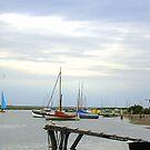 Blakeney Harbour by Ian Lyall