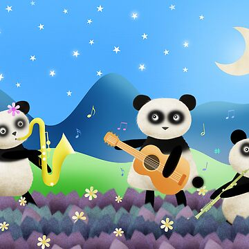 Panda Band by chopstix
