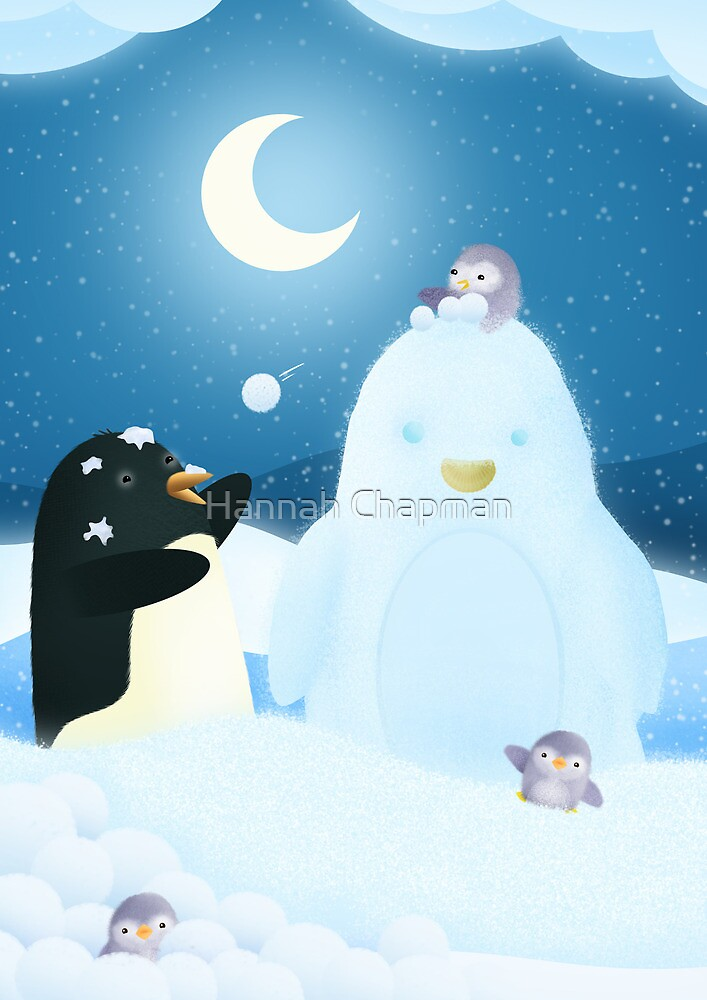 Snow Penguin by Hannah Chapman