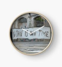 Now is our time Clock