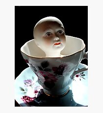 China Doll in a China Teacup Photographic Print