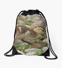 Don't mind me!  Just passing by Drawstring Bag