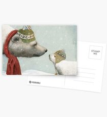First Winter Postcards