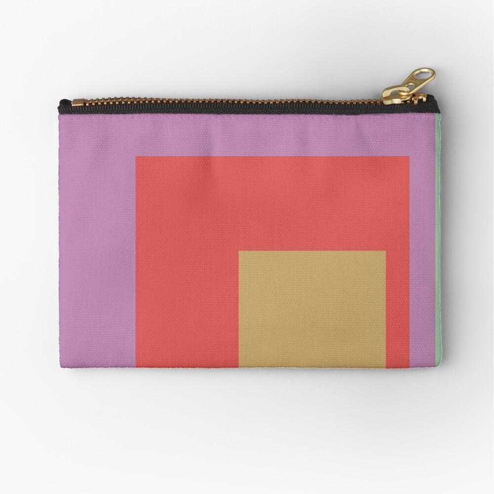Color Ensemble No. 4 Zipper Pouch