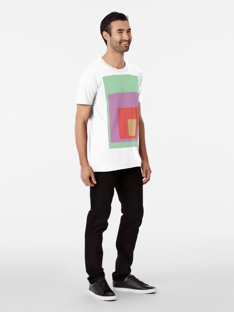 Alternate view of Color Ensemble No. 4 Premium T-Shirt