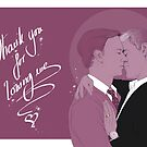 Mystrade - Thank you  by Clarice82