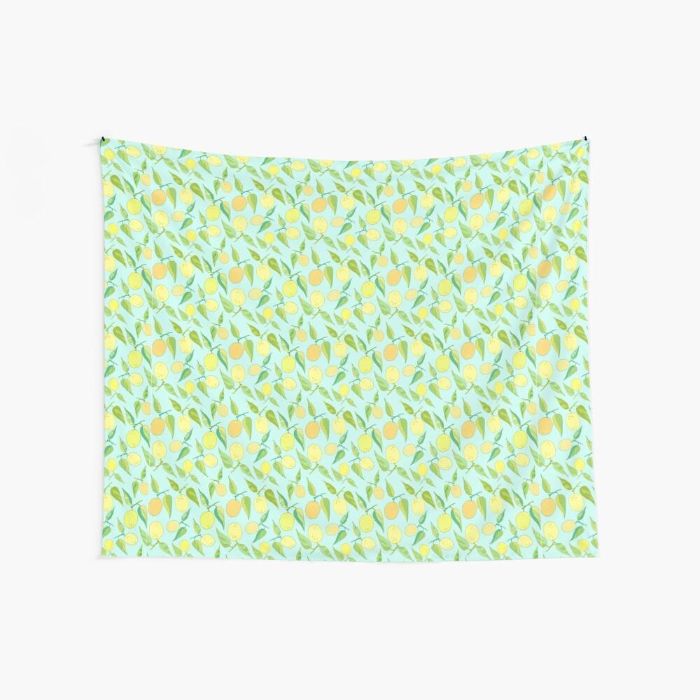 Lemon Twist Wall Tapestry