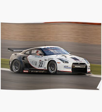 Nissan GT-R Poster