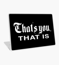 That's You, That is - History Today Laptop Skin