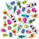 Beetle Bugs by LIMEZINNIASDES
