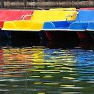Colourful Boats by Daidalos