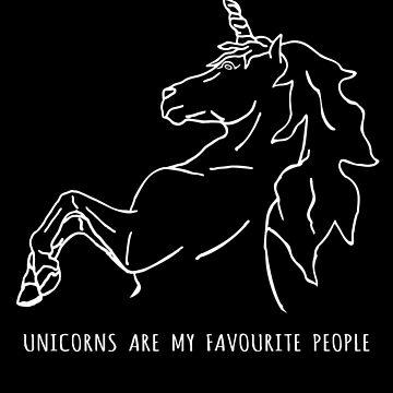 los unicornios son mis personas favoritas de FandomizedRose
