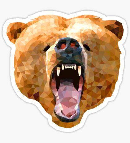 Poly Bear Sticker