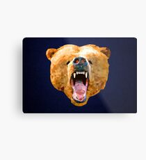 Poly Bear Metal Print