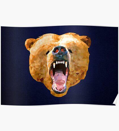 Poly Bear Poster