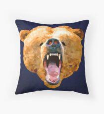 Poly Bear Throw Pillow