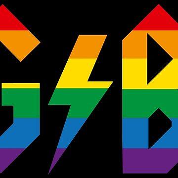 LGBT lesbian gay bisexual transgender queer by LaundryFactory